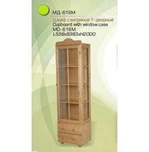 Шкаф с витриной МД-616
