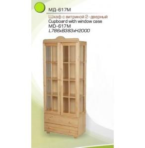 Шкаф с витриной МД-617